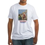 """""""Gift of Democracy"""" Fitted T-Shirt"""