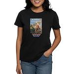 """""""Gift of Democracy"""" Women's Dark T-Shirt"""