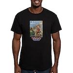 """Gift of Democracy"" Men's Fitted T-Shirt (dark)"