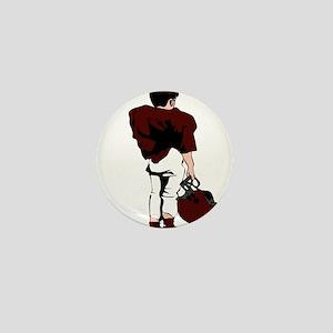 FOOTBALL *22* {crimson} Mini Button