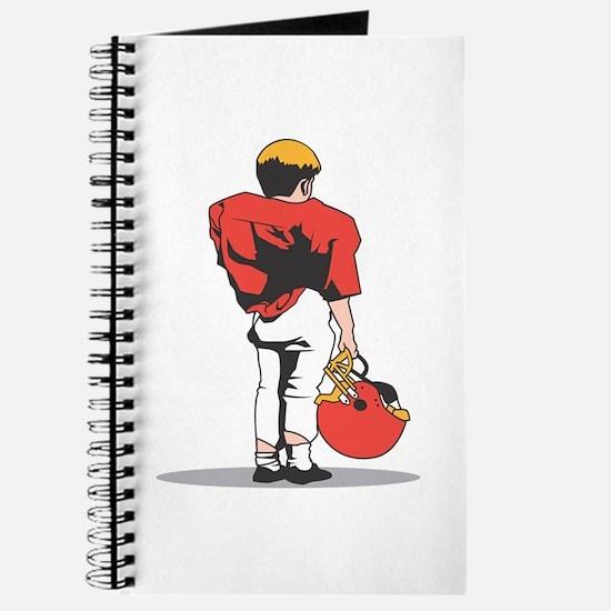 FOOTBALL *22* {red/white} Journal
