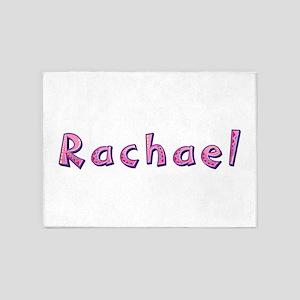 Rachael Pink Giraffe 5'x7' Area Rug