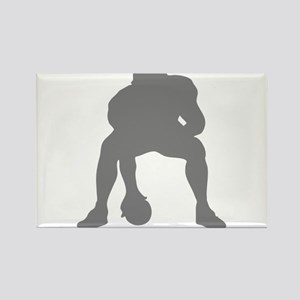 FOOTBALL *23* {gray 2} Rectangle Magnet