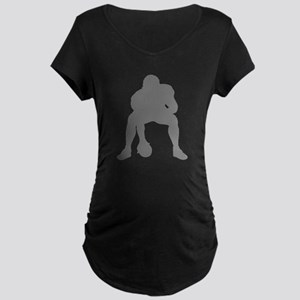 FOOTBALL *23* {gray 2} Maternity Dark T-Shirt
