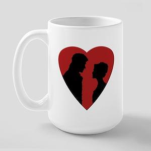 Jane Austen PP3 Lizzy & Darcy Large Mug