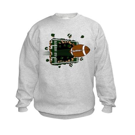 FOOTBALL *24* {green} Kids Sweatshirt