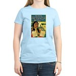 """Foolish Pale-Face"" Women's Light T-Shirt"