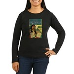 """Foolish Pale-Fac Women's Long Sleeve Dark T-Shirt"