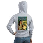 """Foolish Pale-Face"" Women's Zip Hoodie"