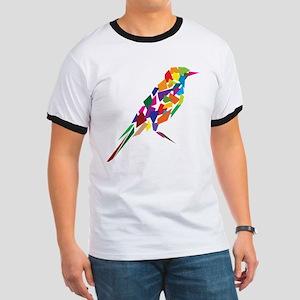 Abstract Bird Ringer T