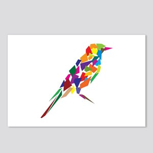 Abstract Bird Postcards (Package of 8)
