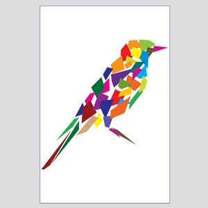 Abstract Bird Large Poster