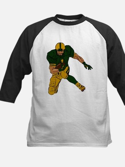 FOOTBALL *29* {green/gold} Kids Baseball Jersey