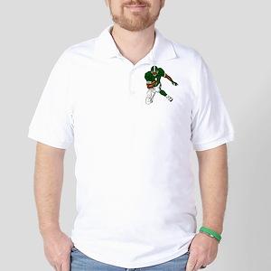 FOOTBALL *29* {green} Golf Shirt