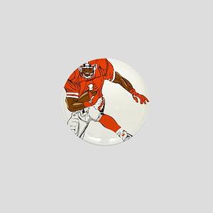 FOOTBALL *29* {orange} Mini Button