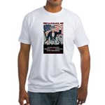 """""""PATRIOT Act"""" Fitted T-Shirt"""