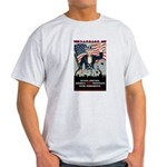 """PATRIOT Act"" Light T-Shirt"