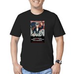 """""""PATRIOT Act"""" Men's Fitted T-Shirt (dark)"""