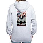 """""""PATRIOT Act"""" Women's Zip Hoodie"""
