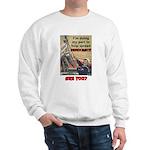 """""""Spread Democracy"""" Sweatshirt"""