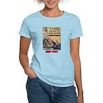 """Spread Democracy"" Women's Light T-Shirt"