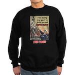"""""""Spread Democracy"""" Sweatshirt (dark)"""