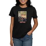 """""""Spread Democracy"""" Women's Dark T-Shirt"""