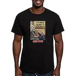 """""""Spread Democracy"""" Men's Fitted T-Shirt (dark)"""