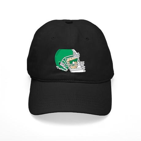 HELMET *4* {green} Black Cap