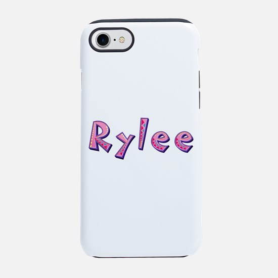Rylee Pink Giraffe iPhone 7 Tough Case