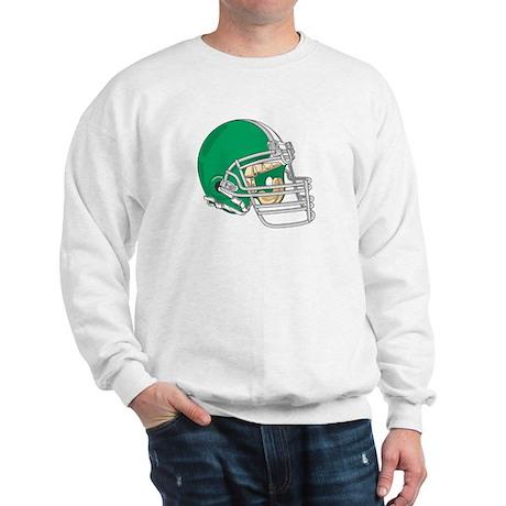 HELMET *4* {green} Sweatshirt