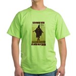 """Torture is Terror"" Green T-Shirt"