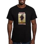 """Torture is Terror"" Men's Fitted T-Shirt (dark)"