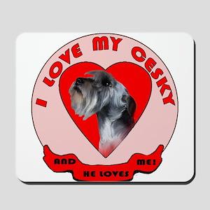 Cesky terrier Love Mousepad