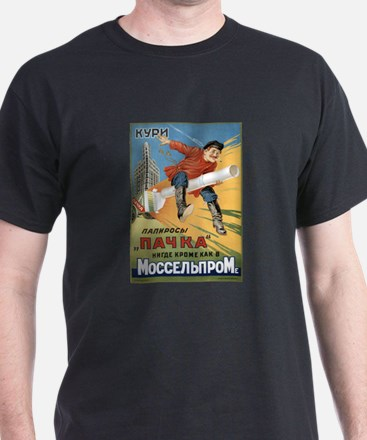 Russian Cigarette Ad T-Shirt