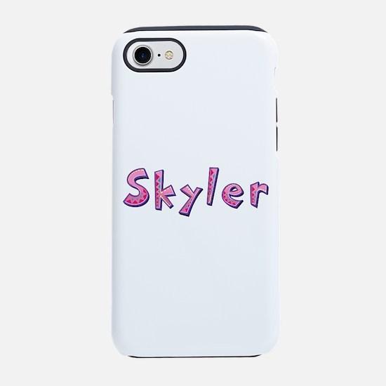 Skyler Pink Giraffe iPhone 7 Tough Case