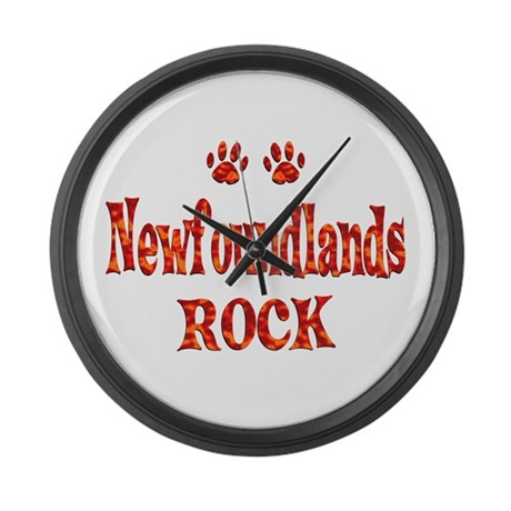 Newfoundland Large Wall Clock
