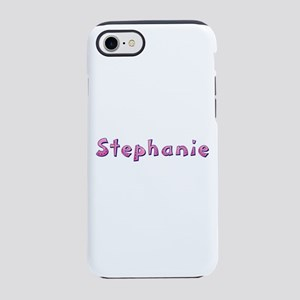 Stephanie Pink Giraffe iPhone 7 Tough Case