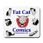 Fat Cat Comics Mousepad