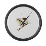 Sushi Large Wall Clock