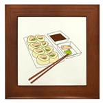 Sushi Framed Tile