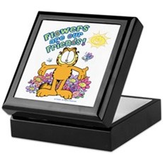 Flowers Are Our Friends! Keepsake Box