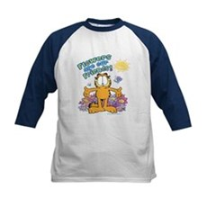 Flowers Are Our Friends! Kids Baseball Jersey
