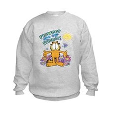 Flowers Are Our Friends! Kids Sweatshirt