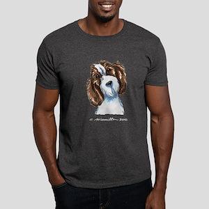 PBGV Portriat Dark T-Shirt