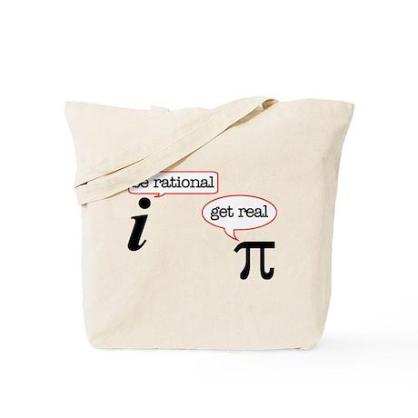 Rational-Real Tote Bag