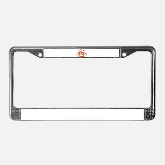 CHEER *1* {orange} License Plate Frame