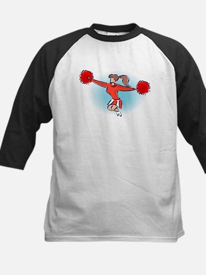 CHEER *2* {red} Kids Baseball Jersey