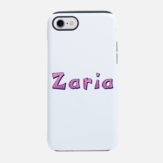 Zaria Pink Giraffe iPhone 7 Tough Case