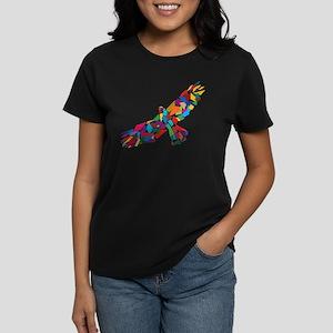 Bird in Flight Women's Dark T-Shirt